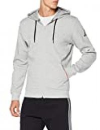 adidas M Mh Plain FZ Sudadera, Hombre, Medium Grey Heather, XL