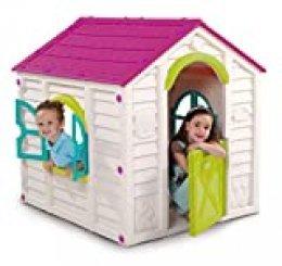 Keter 220140 - Rancho Infaltil con tejado, color rosa