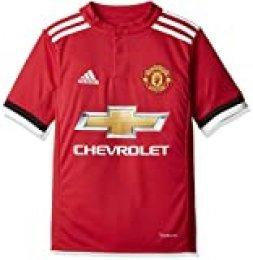 adidas MUFC H JSY Y - Camiseta 1ª Equipación Manchester United 2017-2018 Niños