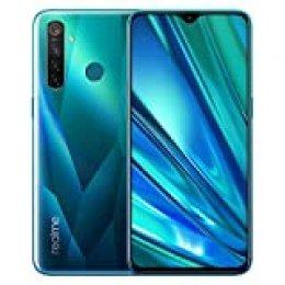 Realme 5 Pro - Smartphone 8GB RAM + 128GB ROM, Pantalla de 6.3'' IPS, procesador Octa-Core, 16MP Frontal y 48MP Cuádruple Cámara, Dual Sim, Crystal Green (Verde)