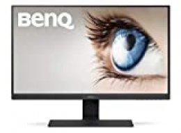 "BenQ GW2780 - Monitor de 27"" FullHD (1920x1080, 5ms, 60Hz, HDMI, IPS, DisplayPort, VGA, Altavoces, E2E, Eye-care, Sensor Brillo Inteligente, Flicker-free, Low Blue Light, antireflejos) - Color Negro"