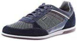 Geox U Renan B, Zapatillas para Hombre, Azul (Navy C4064), 39 EU