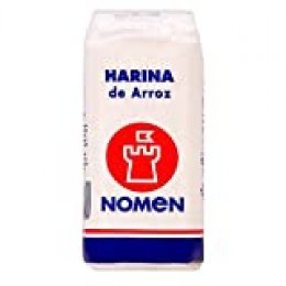 Nomen, Harina de Arroz, 500 g, 20 Unidades