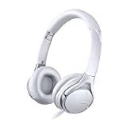 Sony MDR10RC - Auriculares de diadema cerrados (con micrófono, control remoto integrado), blanco