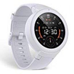 Amazfit Smartwatch, Impermeable Reloj Inteligente con Cronómetro, Pulsera Actividad Inteligente para Deporte, Reloj de Fitness con Podómetro Smartwatch