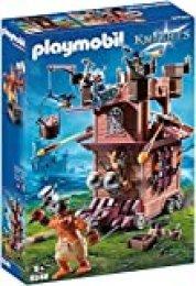 PLAYMOBIL Knights Fortaleza Móvil Enanos, A partir de 5 años (9340)