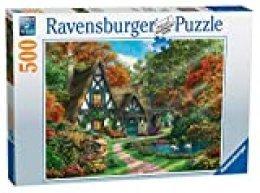 Cottage im Herbst - Puzzle mit 500 Teilen