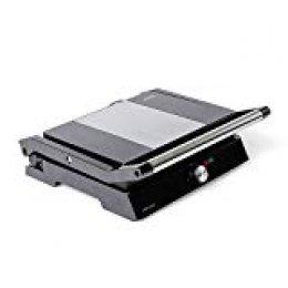 Mellerware Grill eléctrico 2200 W Placas antiadherentes. Obertura 180 grados. Máxima potencia de cocción.