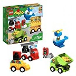 LEGO DUPLO My First - Mis Primeros Coches, Juguete de Construcción de 1 a 2 años (10886)