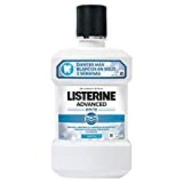 Listerine - Enjuague Bucal Blanqueador Avanzado, 1000 ml