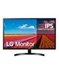 "LG Standard IPS - Monitor de 80 cm (31.5"") Radeon FreeSync (Panel IPS: 1920x1080p, 16:9, 250 CD/m², 1200:1, 75Hz, 5ms) Negro"