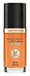 Max Factor Facefinity 3 en 1 All Day Flawless Base de Maquillaje, Tono 88