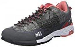Millet LD AMURI, Zapatillas de Senderismo para Mujer, Multicolor (Tarmac/Hibiscus 000), 37 1/3 EU