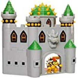 Nintendo- Super Mario Bros, Castillo Bowser Deluxe Playset Grande con Figura exclsuvia, Color (Jakks Pacific 400202-1SOC)