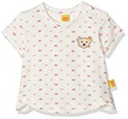 Steiff T-Shirt 1/4 Arm 6832311 Camiseta, Multicolor (Allover 0003), 50 para Niñas