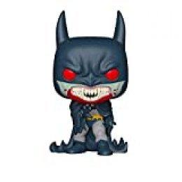 Funko- Pop Figura de Vinilo: Held 80th-Red Rain Batman (1991) Coleccionable, Multicolor (37253)