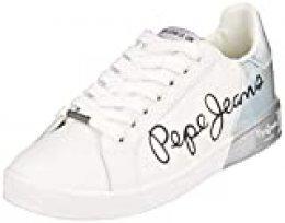Pepe Jeans Brompton Mania, Zapatillas para Mujer