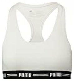 PUMA Iconic Racer Back Bra 1p Ropa Interior, Mujer