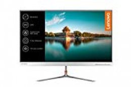 """Lenovo L27q-10 - Monitor de 27"""" (QHD, 2560 x 1440 Pixeles, Tiempo de Respuesta de 4 ms, HDMI, 1000:1) Color Plata"""