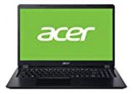 "Acer Aspire 3 - Ordenador portátil 15.6"" FullHD (AMD Ryzen 7-3700U, 8GB RAM, 512GB SSD, UMA, Windows 10 Home) Negro - Teclado QWERTY Español"