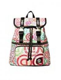 Desigual 20SAKA071001U - Bolso mochila de Sintético Mujer 10.5x31.5x28.5 cm (B x H x T)