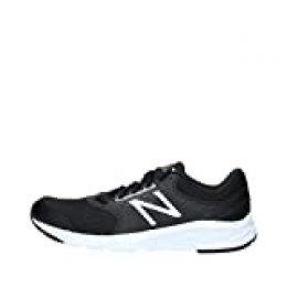New Balance 411, Zapatillas de Running para Hombre, Black (Black/White), 46.5 EU
