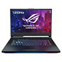"ASUS ROG Strix - Portátil Gaming de 17,3"" FullHD (Intel Core i7-9750H, 16GB RAM, 512GB SSD, GeForce RTX2070-8GB, Sin Sistema Operativo) Negro - Teclado QWERTY Español"