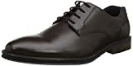 Hotter Eaton, Zapatos de Cordones Oxford para Hombre, Marrón (Dark Brown 17), 44 EU