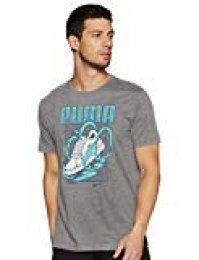 PUMA Sneaker tee Camiseta, Hombre