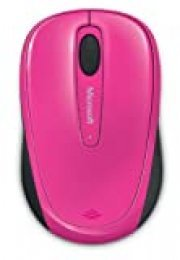 Microsoft – Wireless Mobile Mouse 3500, Inalámbrico, Rosa