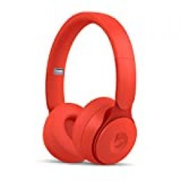 BeatsSoloPro con cancelación de ruido - Auriculares supraaurales inalámbricos - Chip Apple H1, Bluetooth de Clase1, 22horas de sonido ininterrumpido - Colección More Matte - Rojo