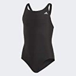 adidas FIT Suit Sol Y Bañador, Niñas, Negro (Black), 5-6Y