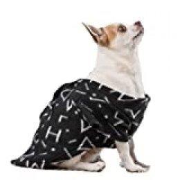 Snug Snug IG115397 Symbols One Doggy Batamanta para Perros, Negro