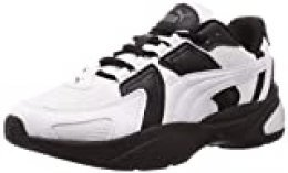 PUMA Ascend, Zapatillas para Hombre, Blanco White Black/Castlerock 02, 41 EU