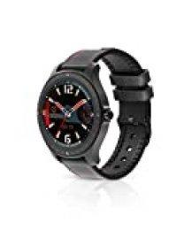BlitzWolf Smartwatch, Reloj Inteligente IP67 Impermeable HD Pantalla Táctil Completa de 1.3 Pulgadas, Rastreador de Actividad, Pulsómetro, Podómetro, Monitor de Sueño, Reloj Deportivo Hombre Mujer
