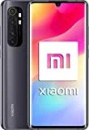 """Xiaomi Mi Note 10 Lite (Pantalla FHD+ 6.47"""", 6GB + 64GB; Cámara 64MP, Snapdragon 730G, Dual 4G, 5260mAh con Carga rápida 30W, Android 10) Negro [versión española]"""