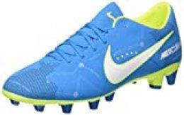 Nike Mercurial Victory Vi NJR AG, Zapatillas de Fútbol para Hombre, Turquesa (Blue Orbit/White/Blue Orbit/Armory Navy/Volt/Volt), 42 EU
