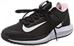 Nike W Nikecourt Air Zoom Zero HC, Zapatilla de Tenis para Mujer, Black White Pink Foam, 42 EU