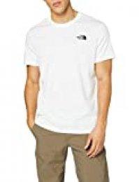The North Face S/S Camiseta De Manga Corta Simple Dome, Hombre, TNF White, XS