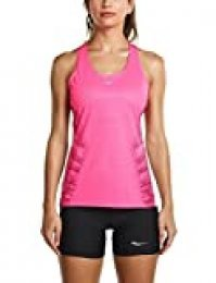 Camiseta Endorphin para mujer, Rosa Vizipro, X-Small