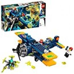 LEGO Hidden Side - Avión Acrobático de El Fuego, Set con Avioneta y Fantasmas de Juguete, Juego de Construcción con App de Realidad Aumentada, a Partir de 7 Años (70429)