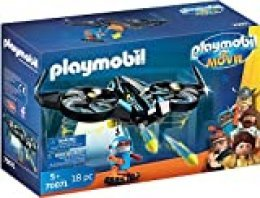 PLAYMOBIL: THE MOVIE Robotitron con Dron, a Partir de 5 Años (70071)